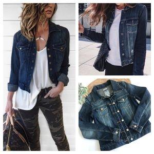 Old Navy Jeans Dark Jacket Stretch Size S